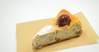 Cheesecake salata con olive e stracchino