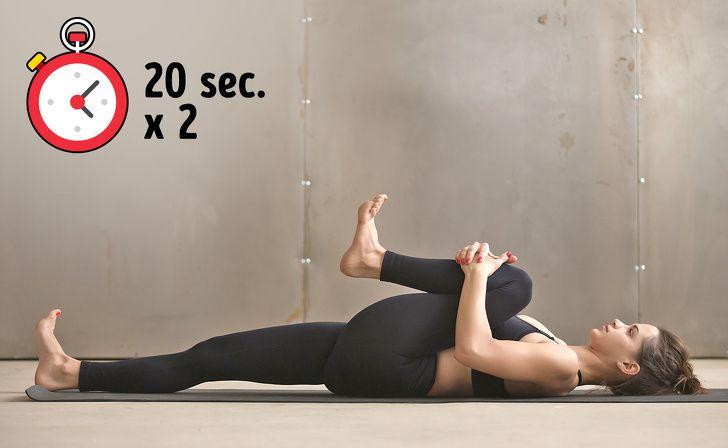 7 esercizi per alleviare il mal di schiena in 10 minuti..